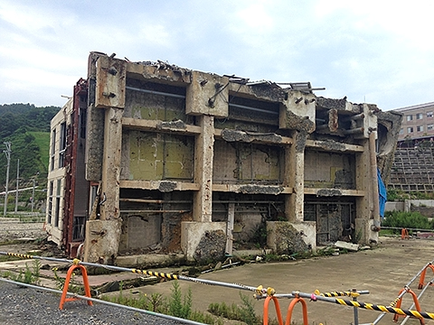 東日本大震災の傷跡