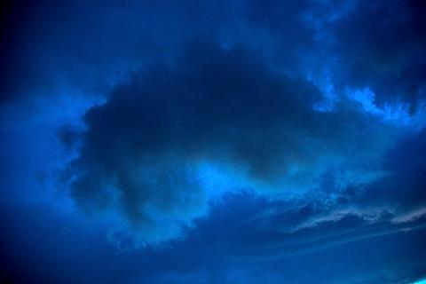 不吉な雲 写真