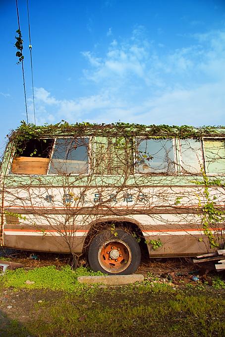 廃バス,写真