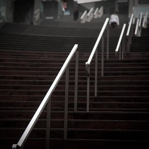 連続する直線 ―階段―