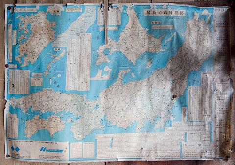 日本地図から思うこと 三重県亀山市