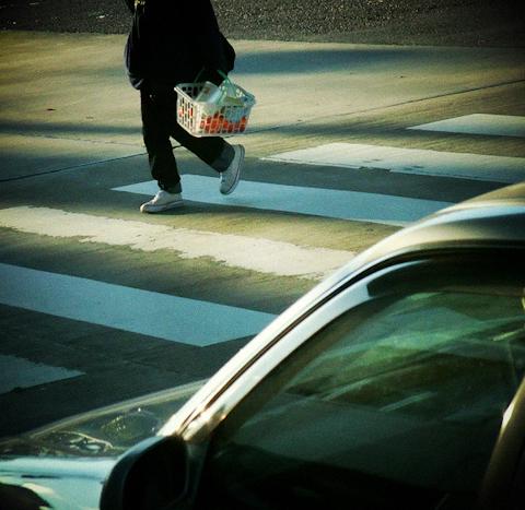 経年劣化とアート、横断歩道について思うこと