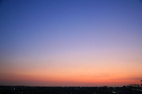 日が昇るすこしまえ