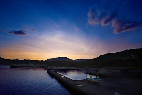 空の情景 ―和歌山県勝浦漁港―