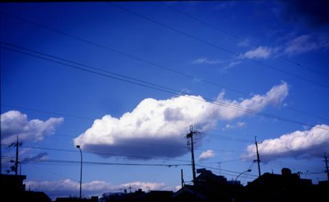 冬の空の印象 写真