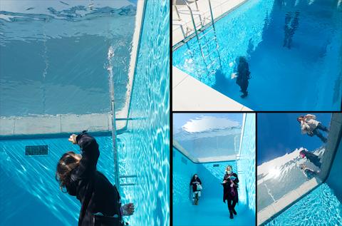 金沢21世紀美術館 レアンドロ・エルリッヒ「スイミング・プール」