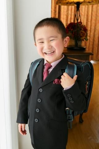 小学校入学写真